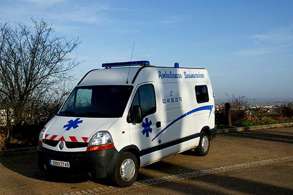 ambulances proche hôpital varennes sur loire
