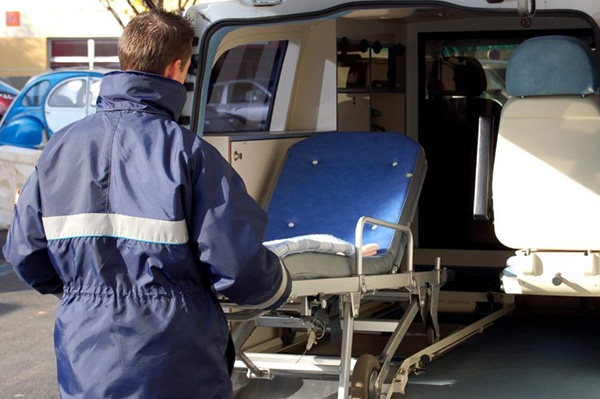 transport malade assis le coudray macouard